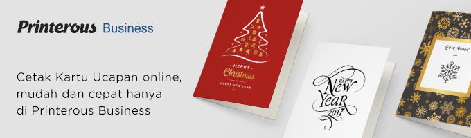 kartu ucapan natal dan tahun baru