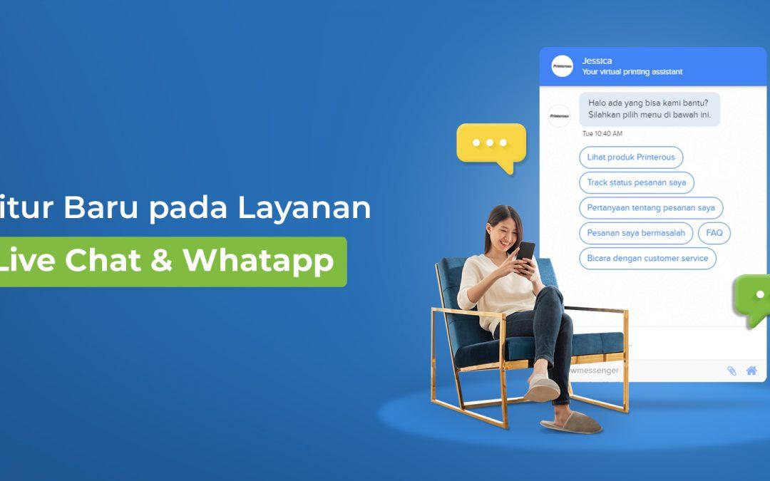 Hadirkan Asisten Virtual pada Layanan Live Chat dan Whatsapp